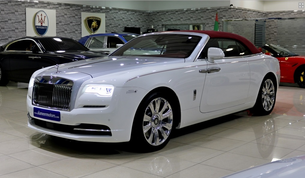 rolls royce dawn fully loaded brand new vendre voiture exclusive d 39 occasion autogespot. Black Bedroom Furniture Sets. Home Design Ideas