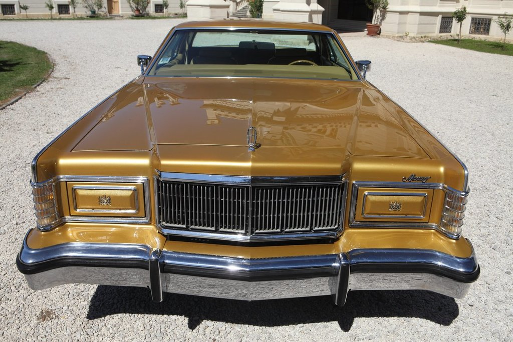 Ford Mercury Grand Marquis Gold Coupe
